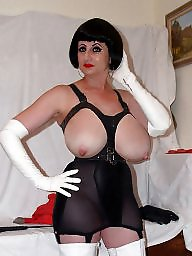 Vintage stockings, Lady b, Lady, Stockings, Latex, Big boobs