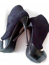 Black teens, Teen heels, High heels