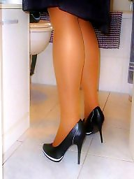 Amateur nylon, Milf heels, Pumping, Heels, High heels, Nylon