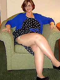 Granny stockings, Pantyhose, Amateur pantyhose, Amateur nylon, Mature pantyhose, Nylon mature