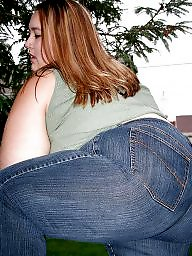 Bbw jeans, Bbw ass, Tight jeans, Jeans, Tight ass, Tights