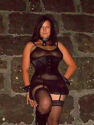 Black stockings, Outdoor, Outdoors, Public stockings