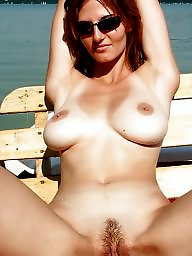 Mature outdoor, Tan lines, Shower, Tanned, Outdoor mature, Mature shower