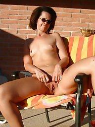 Public mature, Milf public, Mature pool, Pool, Sitting
