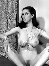 Spreading, Vintage, Vintage boobs, Spread