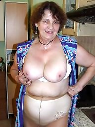 Kitchen, Housewife, Mature naked, Naked mature