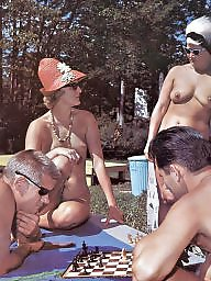 Vintage nudist, Hairy, Vintage, Hairy nudist, Nudists, Hairy vintage