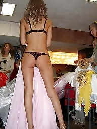Stockings upskirt, Upskirt stockings, Bride