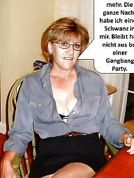 German milf, German caption, Milf captions, Captions, German captions, German